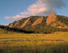 Flatirons Colorado